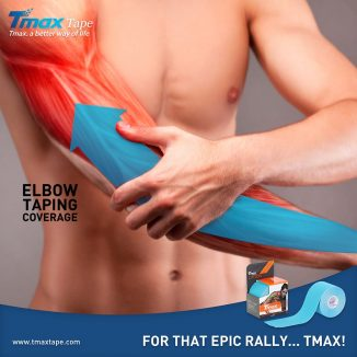 Tmax Elbow Taping Coverage