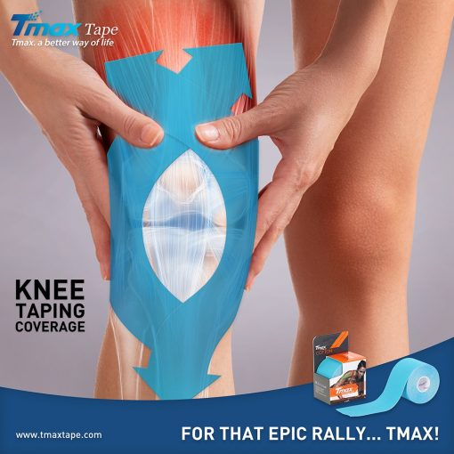 Tmax Knee Taping Coverage