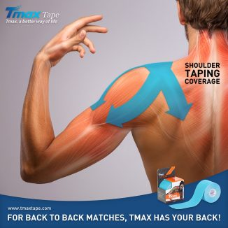 Tmax Shoulder Taping Coverage